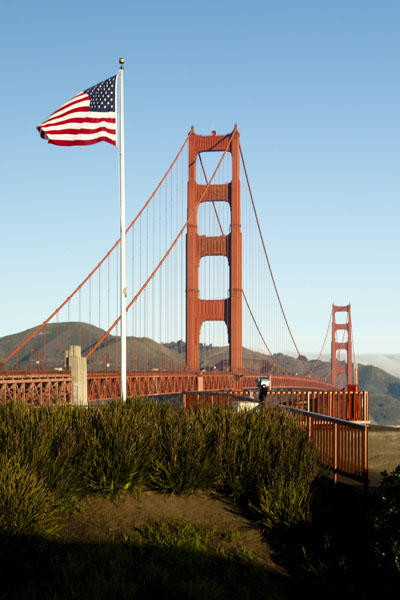 Salute to the Golden Gate Bridge