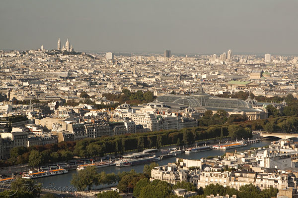Paris and Sacre Coeur