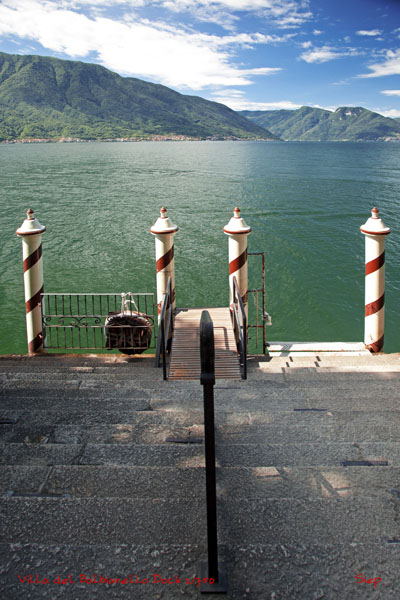 pier at Villa del Balbianello